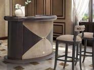 Bancone bar in pelle PLAZA | Bancone bar - Formitalia Group