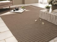 Rectangular fabric rug BARBADOS - Besana Moquette
