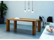 Rectangular oak table BASE   Table - Oliver B.