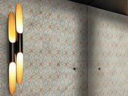 Motif bathroom wallpaper BATIK - Wall&decò
