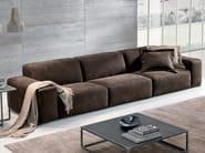 Sectional leather sofa BAZAR | Leather sofa - Max Divani