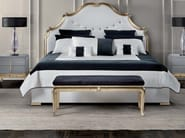 Fabric double bed with high headboard THAIS | Bed - ELLEDUE ARREDAMENTI