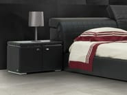 Rectangular leather bedside table BRISBANE | Bedside table - Tonino Lamborghini Casa