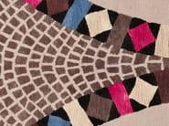 Handmade rectangular rug BEJEWELLED MOSAIC - Deirdre Dyson