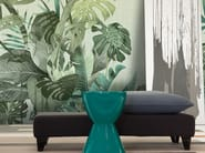 Panoramic wallpaper with floral pattern BENJI - Inkiostro Bianco
