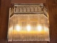 Lampada da parete a luce diretta in ottone BERLIN III | Lampada da parete - Patinas Lighting
