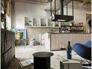 Kitchen with island BERLINO - Callesella Arredamenti S.r.l.
