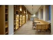 Modular oak bench BISTROT | Bench - Paolo Castelli