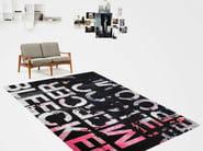 Handmade rectangular rug BLEECKER ORIGINAL GARAGE LOUNGE - HENZEL STUDIO