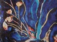 Glass mosaic BLUE ORCHID - DG Mosaic