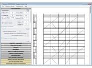 Scaffolding and erection, use, and dismantling report Blumatica Ponteggi MD - Blumatica