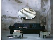 Tavolino basso quadrato in vetro BOITE | Tavolino quadrato - BAXTER