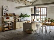 Wooden kitchen BOLOGNA - Callesella Arredamenti S.r.l.