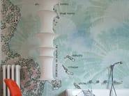 Motif bathroom wallpaper BONAIRE - Wall&decò