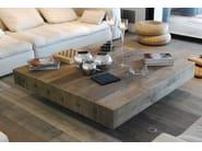 Low oak coffee table BONHEUR | Square coffee table - CABUY D.