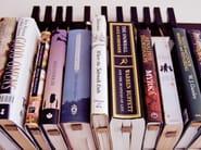 Libreria a parete in legno massello BOOK RACK | Libreria in wengè - AGUSTAV