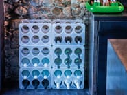 Polypropylene bottle rack BOTTLE - Magis