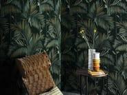 Wallpaper with floral pattern BRASILIA - Wall&decò