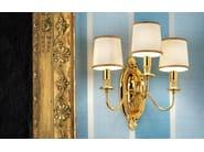 Direct light incandescent brass wall lamp BRASS & - Masiero