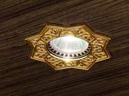 Faretto da semi-incasso in ottone a soffitto BRASS & SPOTS VE 863 - Masiero