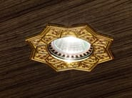 Ceiling semi-inset brass spotlight BRASS & SPOTS VE 863 - Masiero