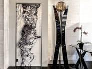 Hinged marble door BRECCIA - Placidia