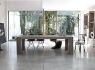 Rectangular solid wood table BROOKLYN - Devina Nais