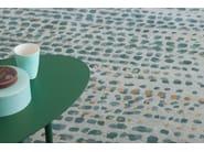 Patterned handmade rectangular rug BRUME - Toulemonde Bochart