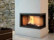 Steel Fireplace Mantel CADRE DESI - Axis