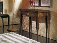 Extending solid wood console table CANALETTO | Rectangular console table - Arvestyle
