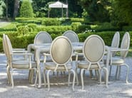 Canopo outdoor dining table and bridge