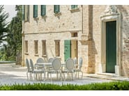 Garden table CANOPO | Dining table - Samuele Mazza Outdoor Collection by DFN
