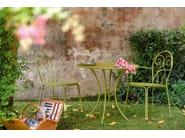 Stackable steel garden chair CAPRERA | Chair - EMU Group S.p.A.
