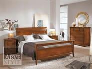 Letto matrimoniale in legno massello CAPRI | Letto in legno massello - Arvestyle