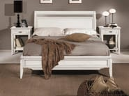 Solid wood double bed CAPRI | Lacquered bed - Arvestyle