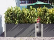 Low cement Flower pot CARAT - SWISSPEARL Italia