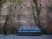 Upholstered 3 seater fabric sofa CARLOS | Sofa - SITS