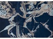 Handmade rug CARRARE ULTRAMARINE - EDITION BOUGAINVILLE