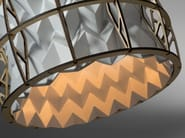Handmade plastic pendant lamp CENTAURI - JavyDesign