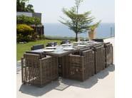 Sedia da giardino con braccioli CASTRIES 23230 - SKYLINE design