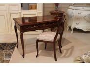 Scrivania laccata rettangolare in legno massello con cassetti CHIARA | Scrivania - Arvestyle