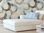 Motif non-woven paper wallpaper CIRCLUM - LGD01