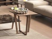 Tavolino basso in legno impiallacciato CITY | Tavolino quadrato - Pacini & Cappellini