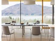 Rectangular laminate meeting table CLIP | Rectangular meeting table - Wiesner-Hager