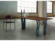 Rectangular oak table CLIPPER - Oliver B.