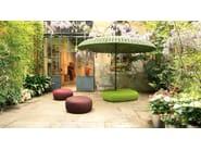 Fabric outdoor chair CLIQUE - Paola Lenti
