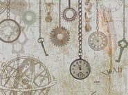 Wallpaper CLOCK AND KEYS - Wallpepper
