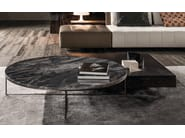 Coffee table CALDER BRONZE | Coffee table - Minotti