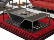 Tavolino basso in pelle di carbonio LONG BEACH MODERN | Tavolino - Tonino Lamborghini Casa by Formitalia Group
