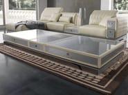 Tavolino basso rettangolare in Alutex da salotto MISANO | Tavolino - Tonino Lamborghini Casa by Formitalia Group